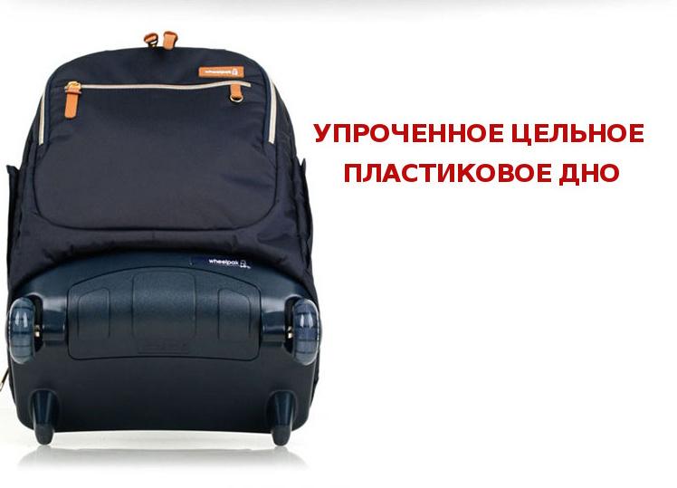 Школьный рюкзак на колесах - ранец Wheelpak Classic Wine - арт. WLP2200 (для 3-5 класса, 21 литр), - фото 14