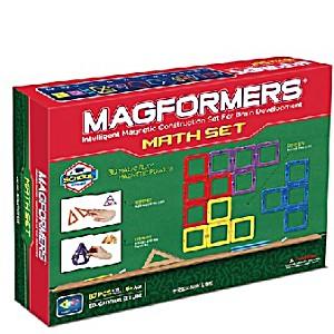 Магнитный конструктор Magformers Увлекательная Математика 87 деталей артикул 63109