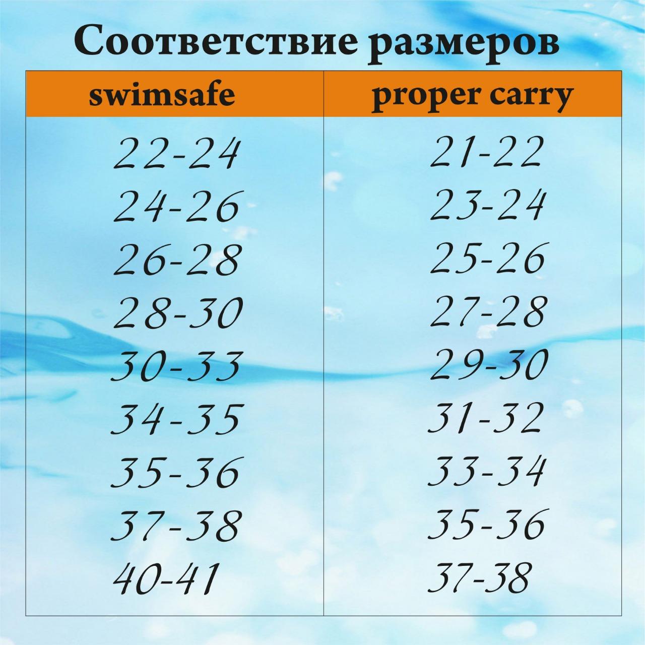 Детские ласты для плавания Proper-Carry тренировочные р. 29-30, 31-32, 33-34, 35-36, 37-38, 39-40, - фото 7